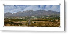 Las Cruces New Mexico Panorama Acrylic Print by Jack Pumphrey