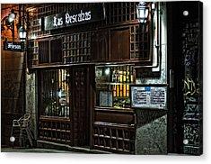 Las Descalzas - Madrid Acrylic Print by Mary Machare