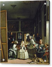 Las Meninas Or The Family Of Philip Iv, C.1656  Acrylic Print