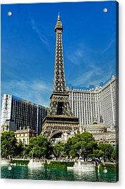 Las Vegas 018 Acrylic Print by Lance Vaughn