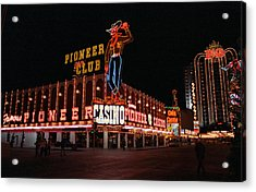 Las Vegas 1983 Acrylic Print by Frank Romeo