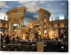 Las Vegas - Caesars Palace - 121211 Acrylic Print by DC Photographer