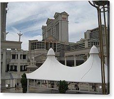 Las Vegas - Caesars Palace - 12122 Acrylic Print by DC Photographer