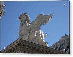 Las Vegas - Caesars Palace - 121222 Acrylic Print by DC Photographer
