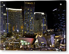 Las Vegas City Center Acrylic Print