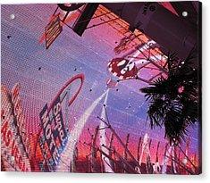 Las Vegas - Fremont Street Experience - 121212 Acrylic Print by DC Photographer
