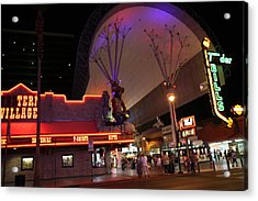 Las Vegas - Fremont Street Experience - 121222 Acrylic Print by DC Photographer