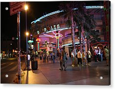 Las Vegas - Fremont Street Experience - 121224 Acrylic Print by DC Photographer