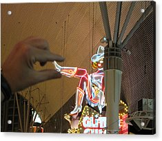Las Vegas - Fremont Street Experience - 12129 Acrylic Print by DC Photographer