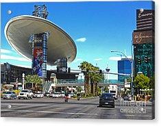 Las Vegas Acrylic Print by Gregory Dyer