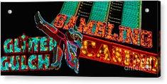 Las Vegas Neon Signs Fremont Street  Acrylic Print by Amy Cicconi
