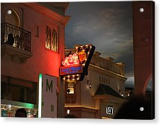 Las Vegas - Planet Hollywood Casino - 12127 Acrylic Print by DC Photographer