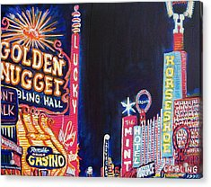 Las Vegas Strip Acrylic Print by Mitchell McClenney