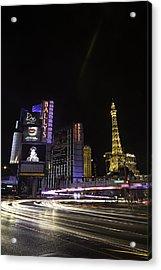 Las Vegas Traffic 11 Acrylic Print