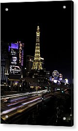 Las Vegas Traffic 5 Acrylic Print
