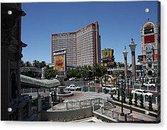 Las Vegas - Treasure Island - 12122 Acrylic Print by DC Photographer
