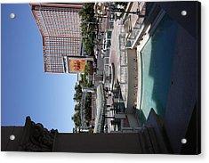 Las Vegas - Treasure Island - 12123 Acrylic Print by DC Photographer