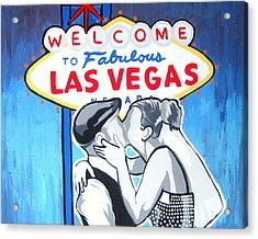 Las Vegas Wedding Acrylic Print by Gary Niles