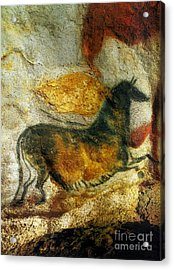 Acrylic Print featuring the photograph Lascaux II Number 4 - Vertical by Jacqueline M Lewis