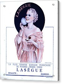 Laseguela Vie Parisienne 1930s France Acrylic Print by The Advertising Archives