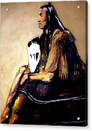 Last Comanche Chief Acrylic Print