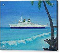 Last Cruise Acrylic Print