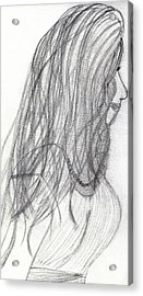 Last Daughter Wed Acrylic Print by Kim Peto