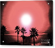 Last Day Of Summer... Acrylic Print by Belinda Staubs