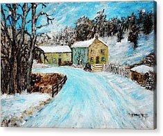 Last Days Of Winter Acrylic Print by Mauro Beniamino Muggianu