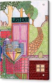 Last Exit Acrylic Print