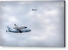 Acrylic Print featuring the photograph Last Flight by Michael Donahue