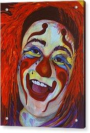 Last Laugh Acrylic Print by Carolyn LeGrand