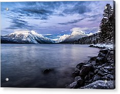 Acrylic Print featuring the photograph Last Light by Aaron Aldrich