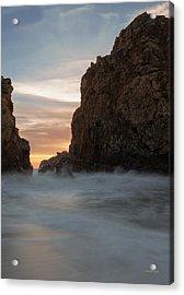 Last Light At Big Sur Acrylic Print