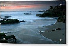 Last Light At Windansea Beach Acrylic Print