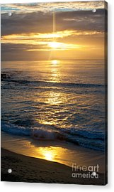 Last Light Acrylic Print by Chris Heitstuman
