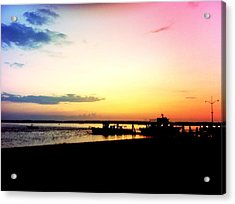Acrylic Print featuring the photograph Last Light by Denyse Duhaime