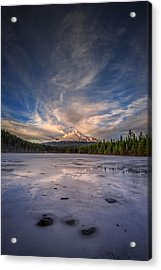 Last Light In The Pacific Northwest Acrylic Print