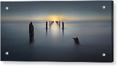Last Light Acrylic Print by Nadav Jonas