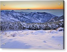 Last Light Of The Day Acrylic Print by Guido Montanes Castillo