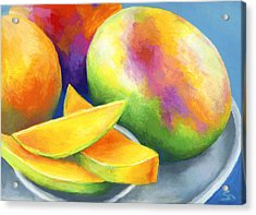 Last Mango In Paris Acrylic Print by Stephen Anderson