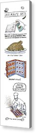 Last-minute Gifts Put A Stop To Sluggish Dialogue Acrylic Print