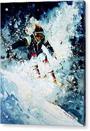 Last Run Acrylic Print by Hanne Lore Koehler