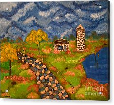 Acrylic Print featuring the painting Last Spring by Denise Tomasura