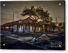 Last Stop Tarpon Springs Acrylic Print by Marvin Spates