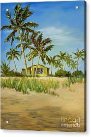 Acrylic Print featuring the painting Last Sugar Shack by Vic  Mastis