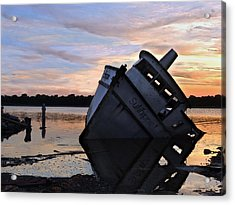 Acrylic Print featuring the photograph Last Resting Place by Laura Ragland