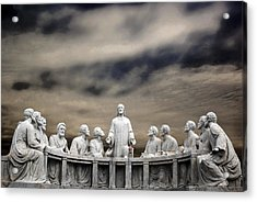 Last Supper Baltimore Maryland 2008 Acrylic Print by John Hanou