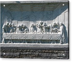 Last Supper Acrylic Print by Greg Patzer