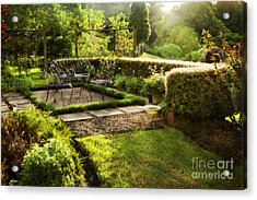 Late Afternoon Garden Acrylic Print